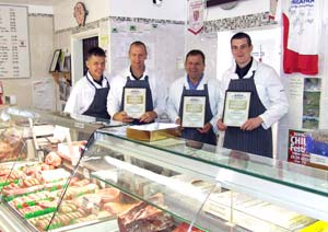 Brookfield Farm Butchers Stevenage Hertfordshire in the Shop